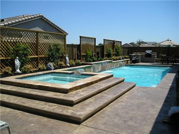 Swimming pool pictures gallery for Pool design roseville ca