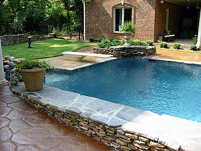 Deck pool design ideas home design and interior for Raised pool designs