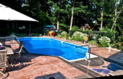 Concrete Pool Deck - Durafloor