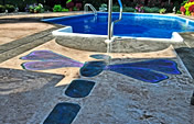 Concrete Pool Deck - Davis Colors